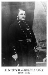 Henry De Burgh Adams1865 November 9th**