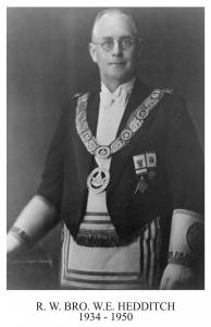 Walter Ernest Hedditch  1934   March 8th