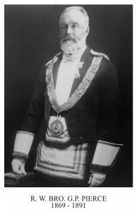 George Patrick Pierce  1869 September 3rd